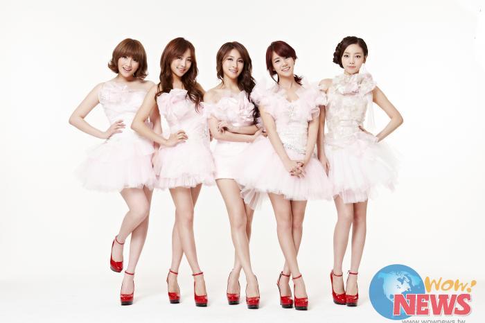 韩国女子团体「kara」将於3月底访台会歌迷