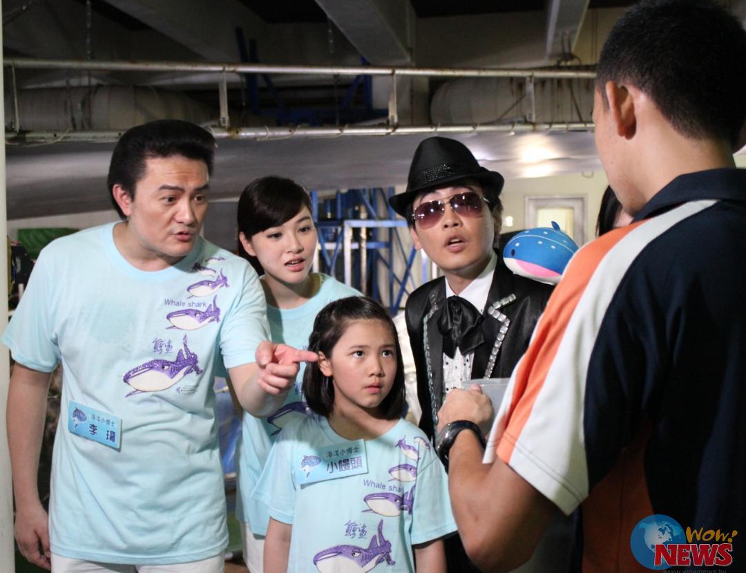 三立都会台「海洋小学堂」 赛事激烈李王罗发型仍毅力