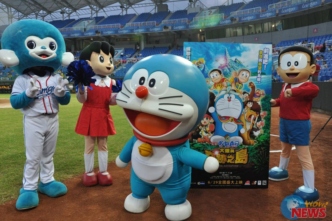 《哆啦a梦:大雄与奇迹之岛》职棒首赛开好球 预祝票房