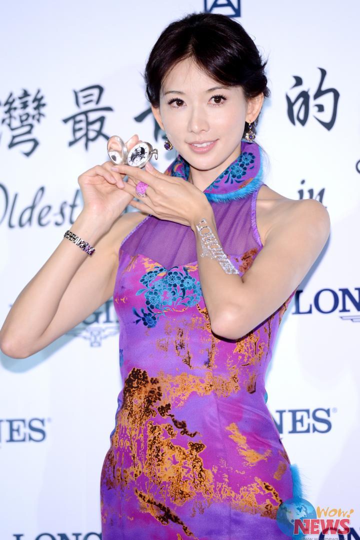 林志玲旗袍现身 见证浪琴三世纪制表工艺传承