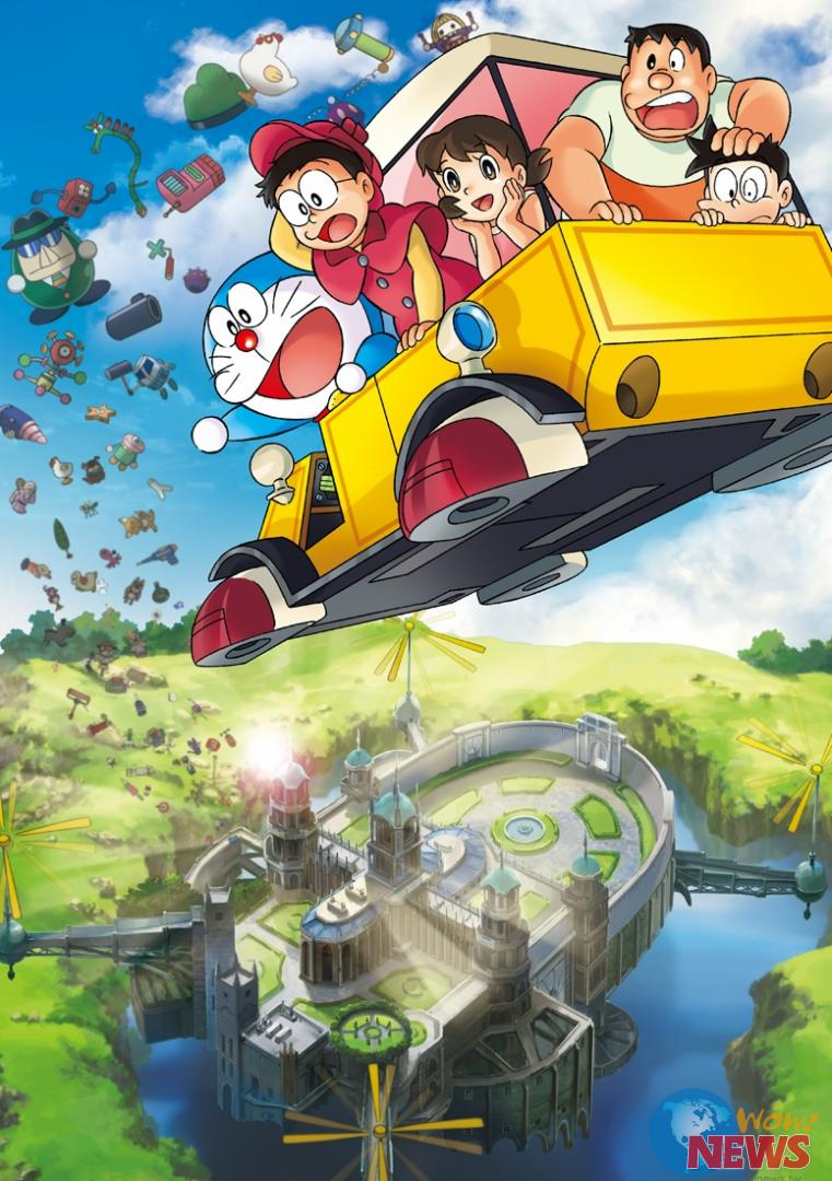 备受大小朋友喜爱的最新电影版《哆啦a梦:大雄的秘密道具博物馆》