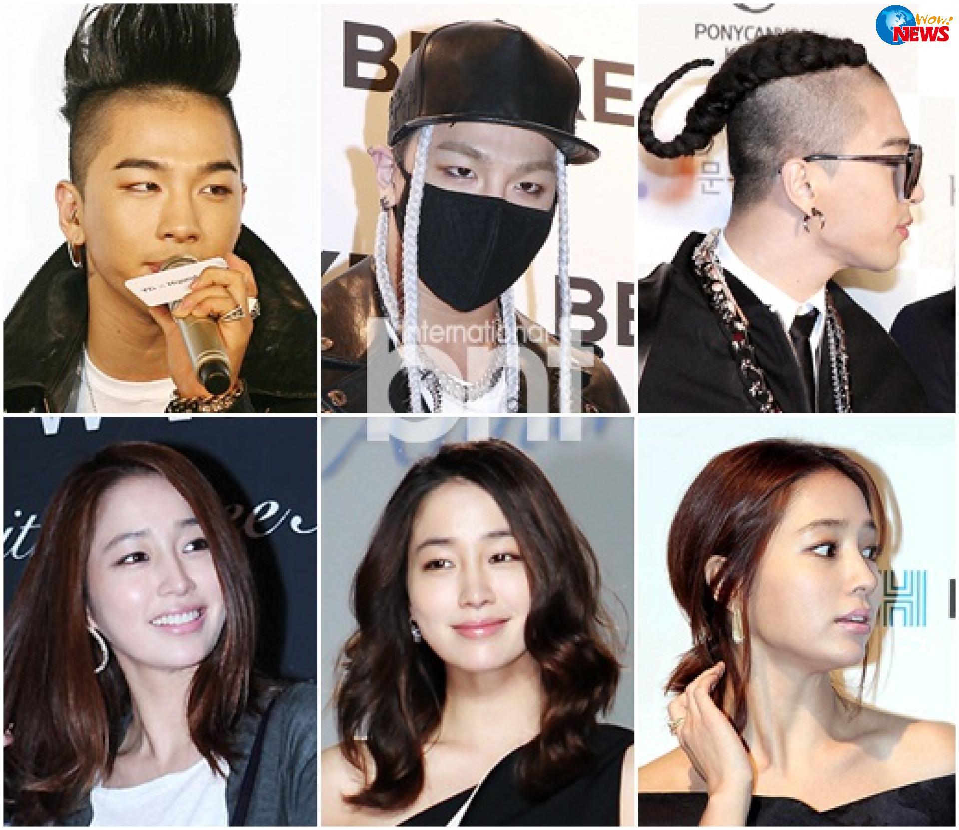 韩国偶像男团与女演员撞脸best