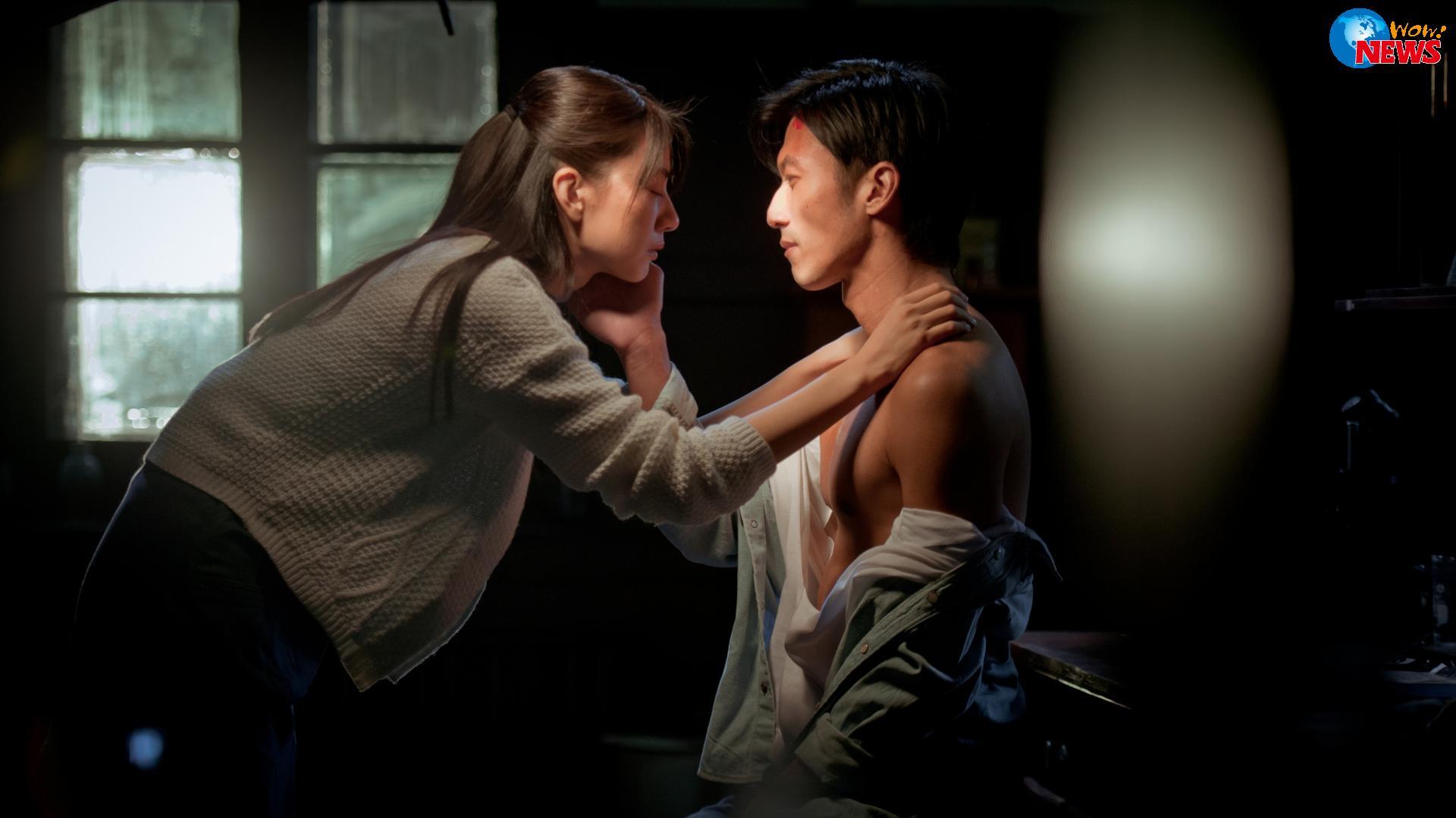 演技派帅哥谢霆峰与大陆美女高圆圆合作的浪漫