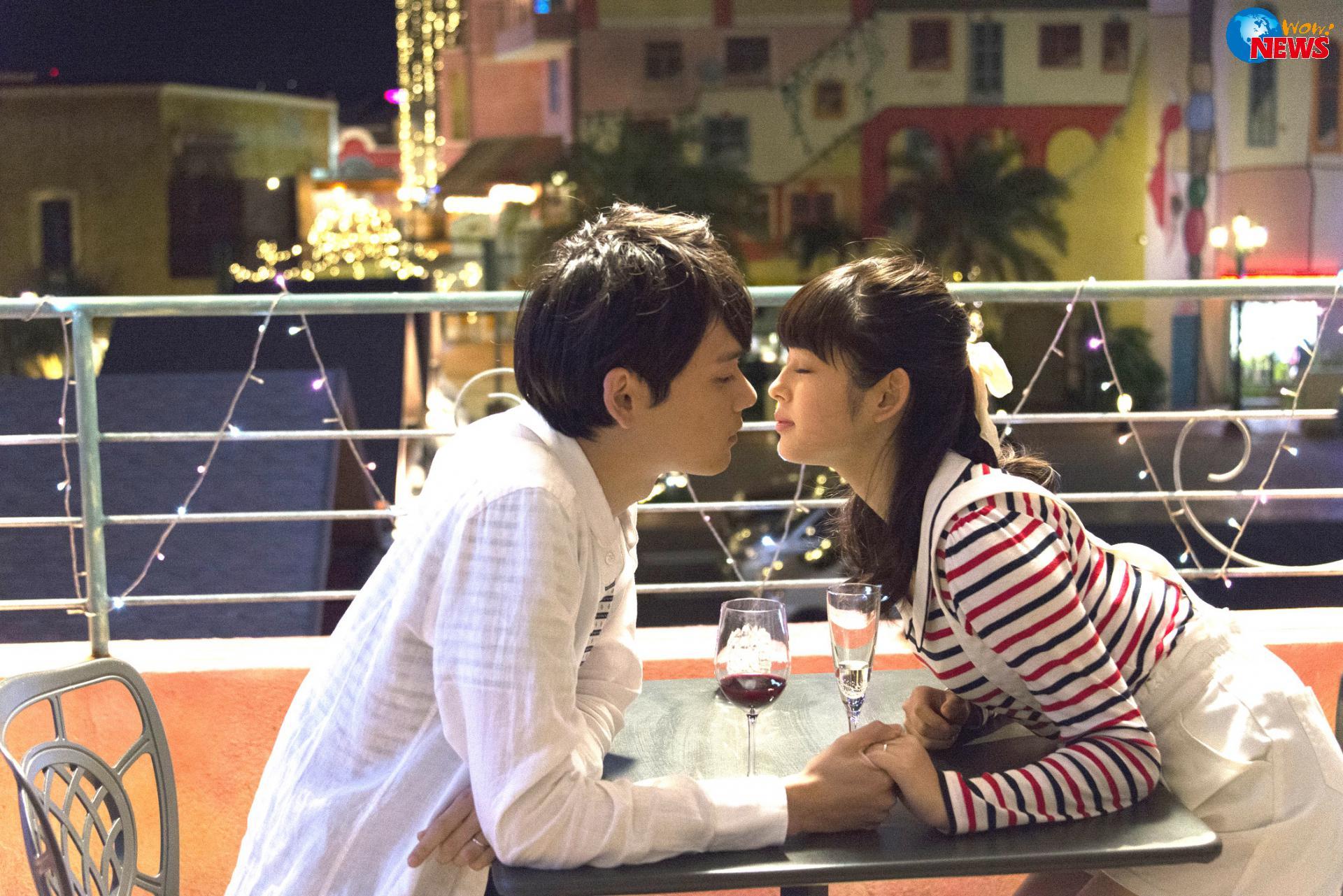 在2吻中古川雄辉与未来穗香吻戏更多更自然