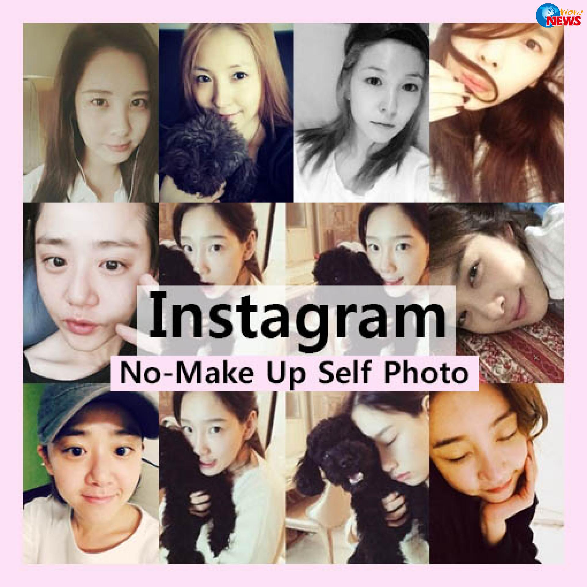 韩国明星instagram素颜照大合集