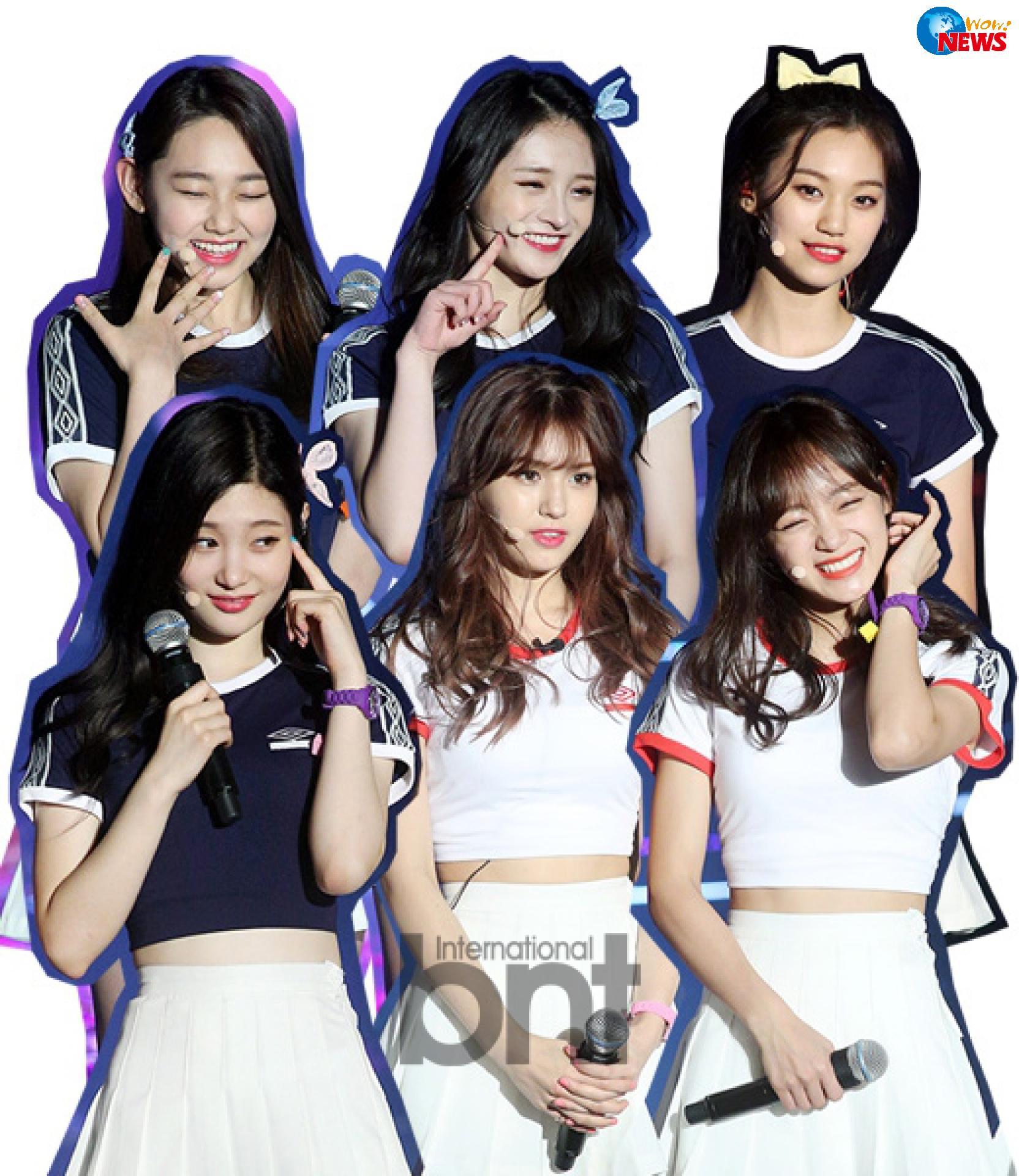 bnt新闻讯 5月4日,韩国国民女子组合i.o.i正式出道.